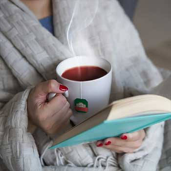Drinking a cup of tea improve your focus and alertness