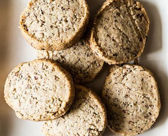 Vanilla & Rooibos Cinnamon Tea Cookies