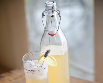 Sparkling Lavender Lemon Tea