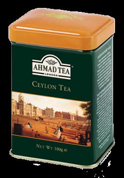 Ceylon Tea - 100g Loose Tea Caddy