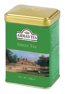 Green Tea - Pure - 100g Loose Tea Caddy