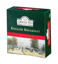 English Breakfast - 100 Tagged Teabags