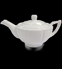 Ahmad Tea Classic White Teapot