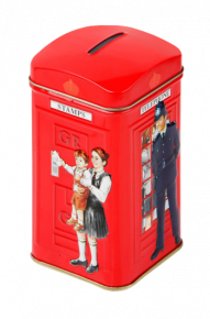 Tea Bag Caddy Money Boxes - Policeman Telephone Box