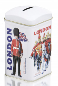 Tea Bag Caddy Money Boxes - Royal Guards