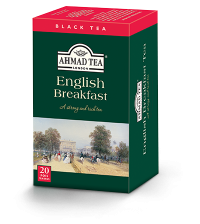 English Breakfast - 1 case (6 boxes of 20tb)