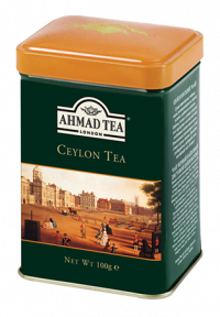 Ceylon Tea - 100g Loose Tea Caddy