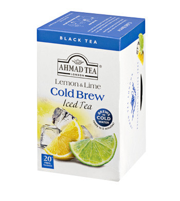 Cold Brew Iced Tea - Lemon & Lime