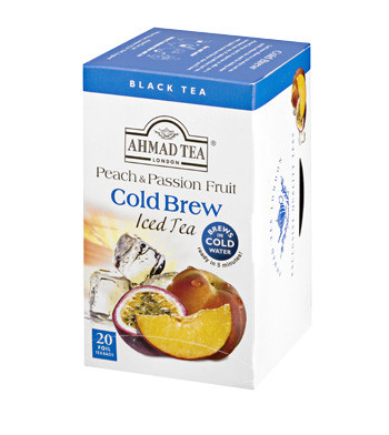 Cold Brew Iced Tea - Peach & Passion Fruit